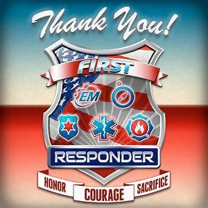 First Responder Recognition Night on 9/27