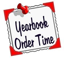DON'T MISS BUYING YOUR YEARBOOK!