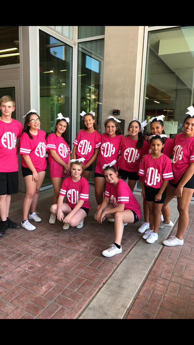 Fort Davis Junior High and High School Cheer Squad for 2018-19