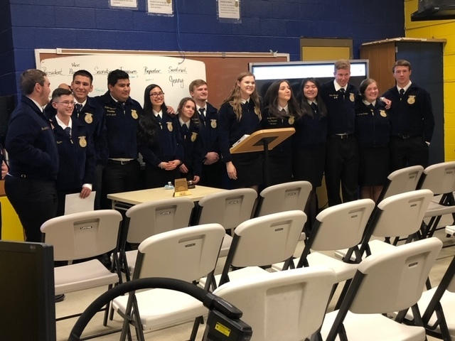 FFA District Meeting 2